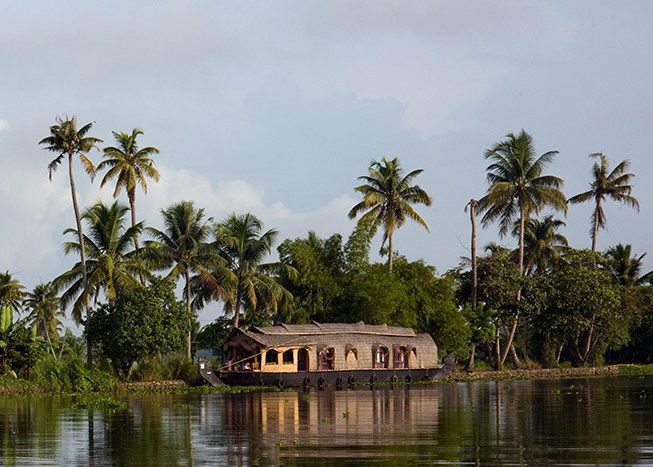 House Boat | Backwater | Kerala | India | Asia