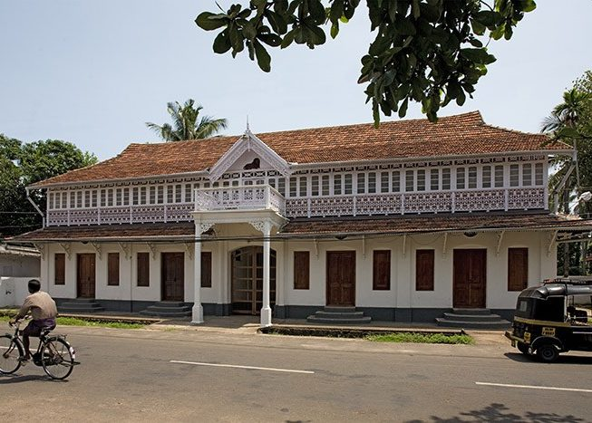Portuguese Architecture Home | Kerala | India | Asia