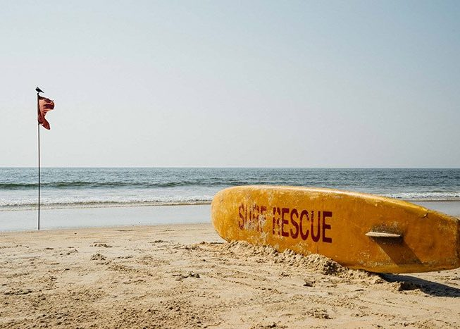 Beach Rescue Flag | Goa | India