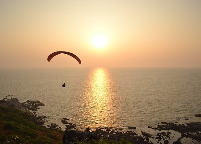 Paragliding | Goa | India