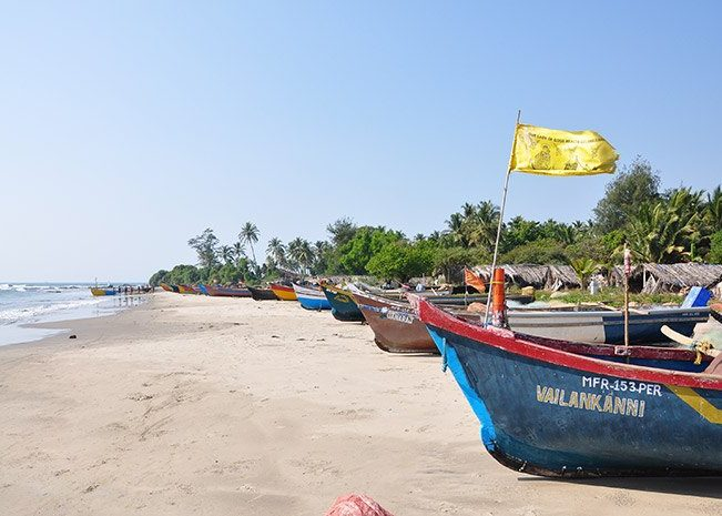 Boats on Beach | Goa | India