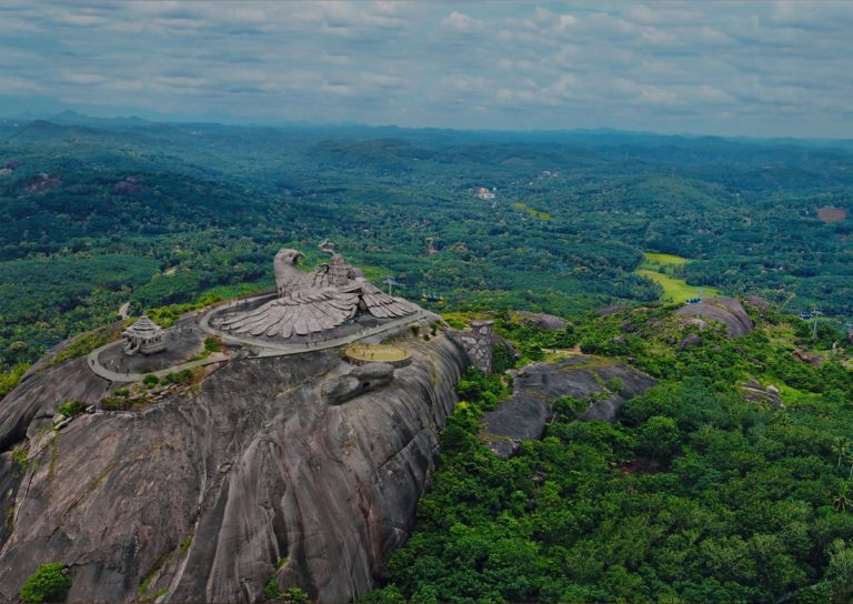 Jatayu Nature Park - World's Largest Bird Sculpture