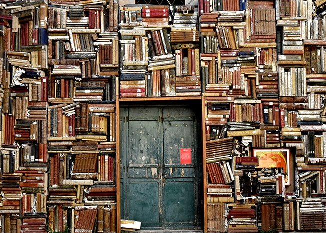Books Door | Italy | Europe