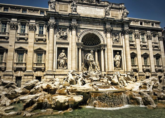 Trevi Fountain | Rome | Italy | Europe